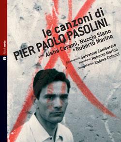 """""""Le canzoni di Pier Paolo Pasolini"""". Copertina"""