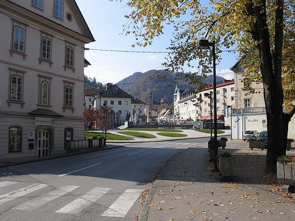 Piazza della Torre. Idrija