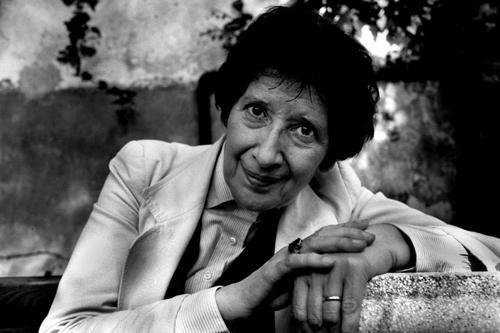 Giovanna Bemporad (Ferrara, 16 novembre 1928 – Roma, 6 gennaio 2013). Foto di Danilo De Marco