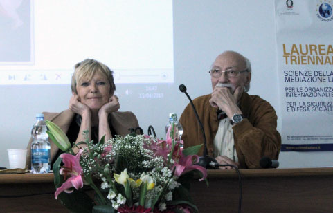 Angela Felice e Roberto Villa