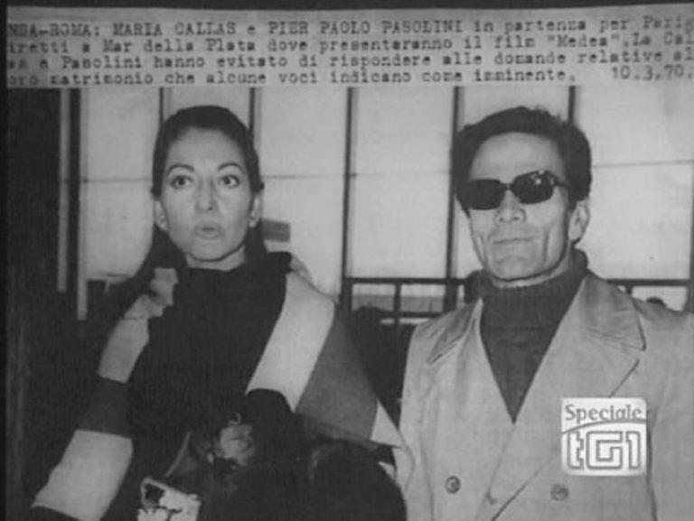 """Callas e Pasolini: """"Di quell' amor…"""", di Alessandro Cannavò"""