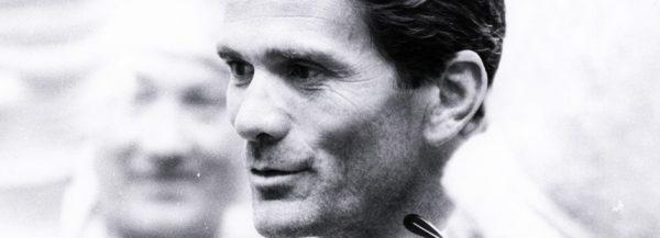 Pier Paolo Pasolini.Foto di Angelo Novi