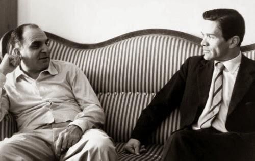 Attilio Bertolucci e Pier Paolo Pasolini