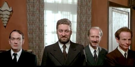 """Paolo Bonacelli in """"Salò"""" (1975) di Pasolini"""