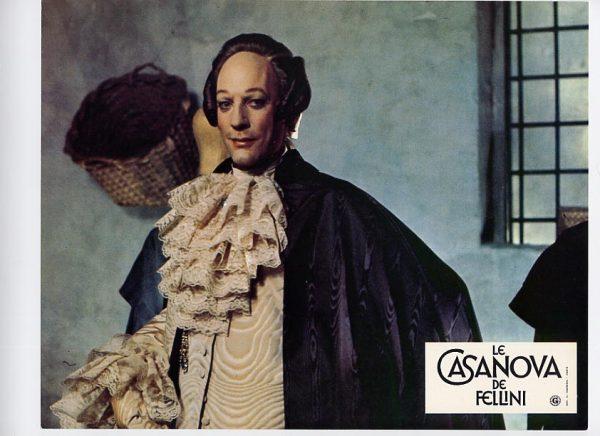 """Donald Sutherland nel """"Casanova"""" (1976) di Federico Fellini"""