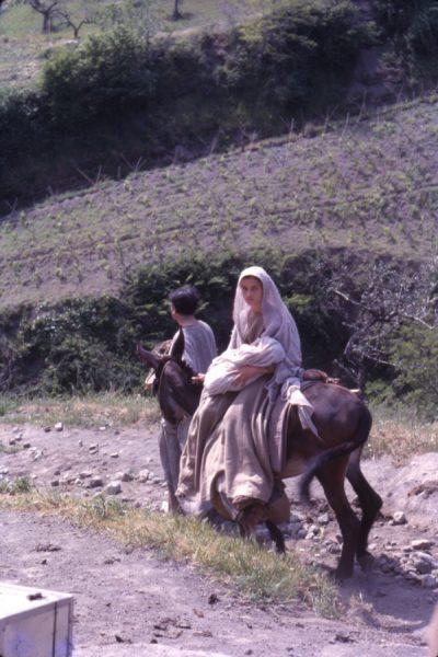 "Maria giovane e Giuseppe nel ""Vangelo secondo Matteo"" (1964)"