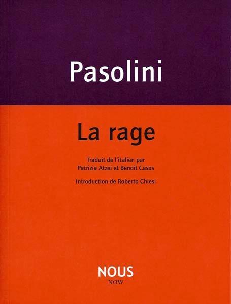 """""""La rage"""" - copertina"""