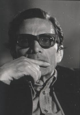 """Pier Paolo Pasolini al tempo di """"Salò"""" (1975)"""