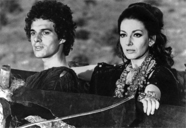 """Sergio Tramonti e Maria Callas in """"Medea"""""""