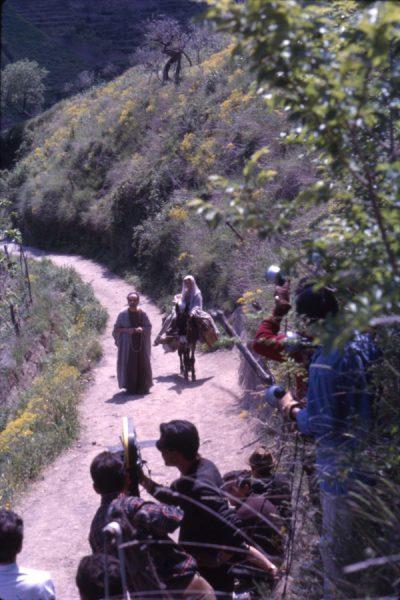 """""""Il Vangelo"""" di Pasolini. Un'immagine del set"""