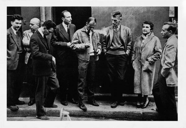 Il gruppo del Nouveau Roman (Parigi, 1959). Foto di Mario Dondero