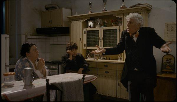 """Riccardo Scamarcio e Ninetto Davoli in """"Pasolini"""""""