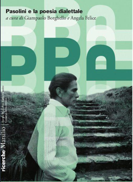 """""""Pasolini e la poesia dialettale"""". Copertina"""