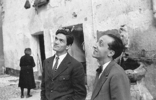 Pasolini e Francesco Leonetti