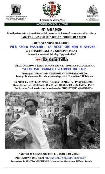 """""""Pier Paolo Pasolini: la voce che non si spegne"""". Manifesto"""