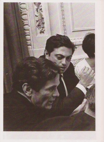 """Pasolini e Gian Vittorio Baldi, al tempo di """"Porcile"""" (1968-69)"""
