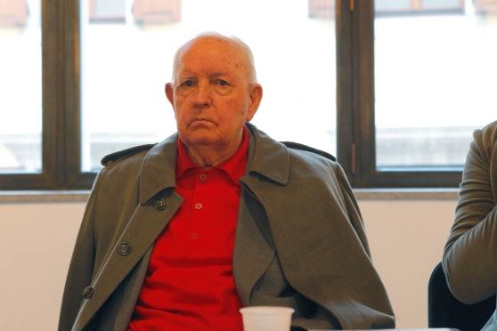 Giuseppe Zigaina in una immagine recente