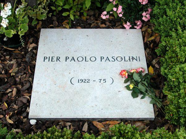 Tomba di Pasolini. Cimitero di Casarsa della Delizia