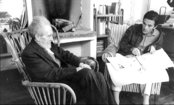 Pound e Pasolini (1967)