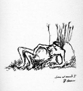 Pier Paolo Pasolini, Donna nel canneto