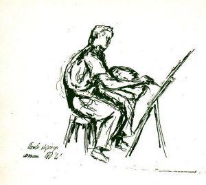 Pier Paolo Pasolini, Paolo dipinge, 1941