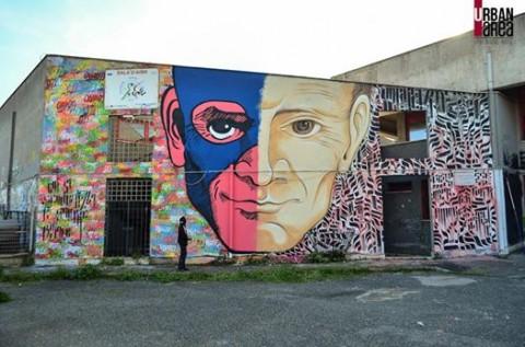 Murale per Pasolini by Omino71 e Mr. Klevra