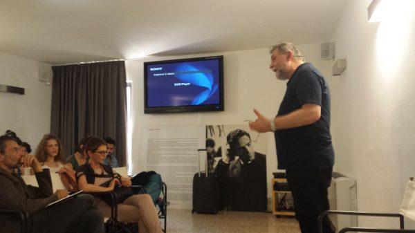 Gerardo Guccini. Centro Studi Pasolini di Casarsa. 18 maggio 2015