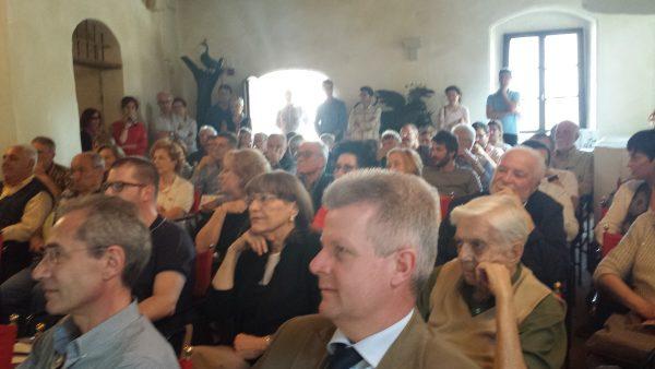 Castello di Valvasone, 13 maggio 2015. Visione del pubblico