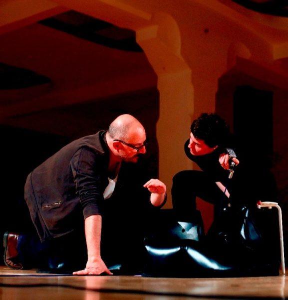 """""""Ma"""". Antonio Latella e Candida Nieri. Foto di Andrea Pizzalis"""
