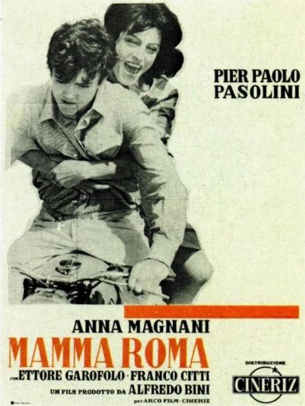 """""""Mamma Roma"""" (1962) di Paoslini. Manifesto"""