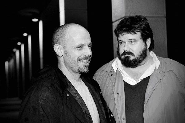 Piero Sidoti e Giuseppe Battiston. Foto di Daniela Crevena