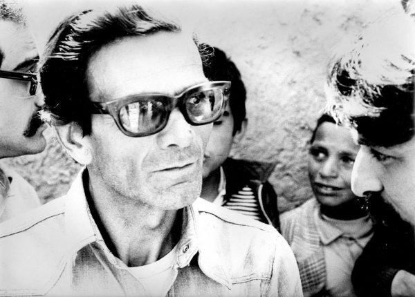 Pasolini a Sana'a. Foto di Roberto Villa