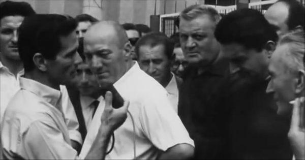 """Pasolini in """"Comizi d'amore"""" (1963)"""