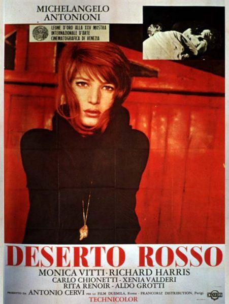 """""""Deserto rosso"""" (19) di Antonioni. Manifesto"""