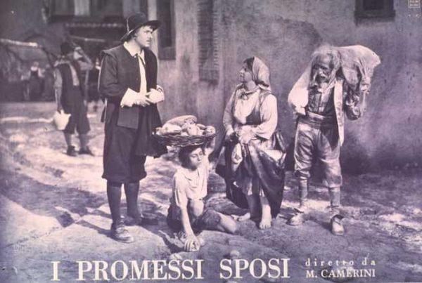 """""""I promessi sposi"""" (1941) di Mario Camerini. Con Gino Cervi"""