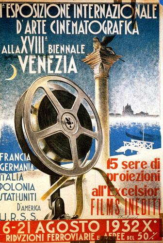 Mostra del Cinema di Venezia 1932.Manifesto