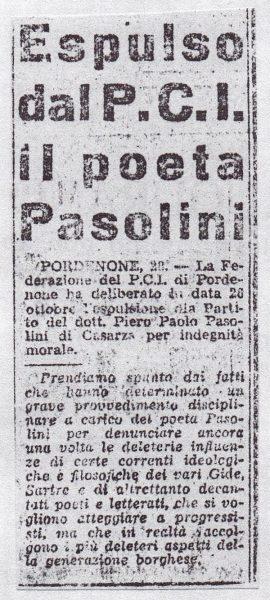 """""""l'Unità"""" del 29 ottobre 1949"""