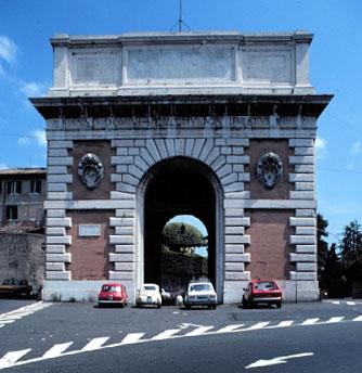 Monteverde. Porta San Pancrazio