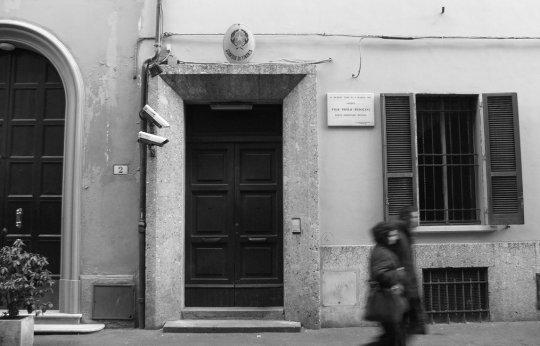 Bologna. Casa di via Nosadella in cui nacque Pier Paolo Pasolini