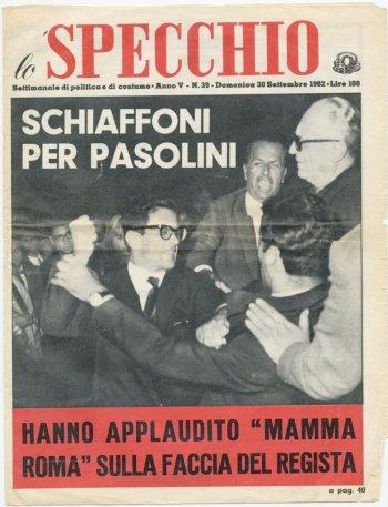 """""""Lo Specchio"""", 30 settembre 1962."""