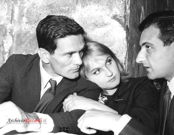 Pasolini, Laura Betti e Parise allo Strega del 1960