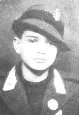 Pier Paolo Pasolini a dieci anni