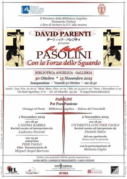 David Parenti. Manifesto Mostra