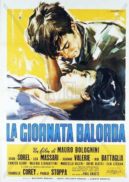 """""""La giornata balorda"""" (1960). Locandina"""