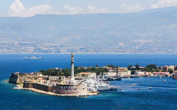 Messina. Panorama