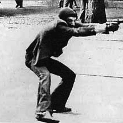 Milano 14 maggio 1977. Foto di Paolo Pedrizzetti