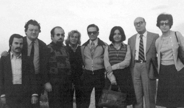 Pasolini a Calimera (Lecce) nel pomeriggio del 21 ottobre 1975