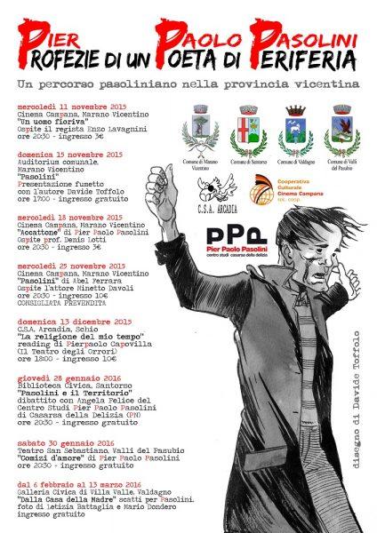 """""""PPP. Profezie di un Poeta di Periferia"""". Locandina"""