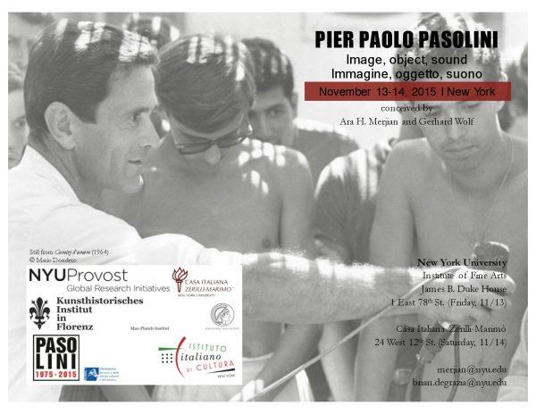 """""""Pier Paolo Pasolini Image,"""