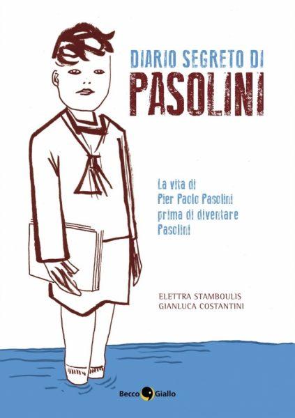 """""""Diario segreto di Pier Paolo Pasolini"""". Copertina"""
